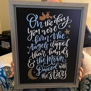 Wall decor for nursery